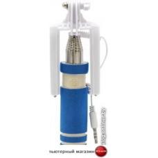 Палка для селфи Ritmix RMH-105 Mini (синий)