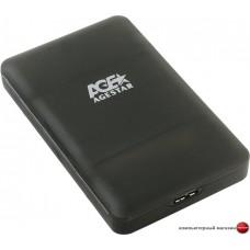 Бокс для жесткого диска AgeStar 31UBCP3 (черный)