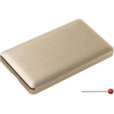 Бокс для жесткого диска AgeStar 3UB2A16 (золотистый)