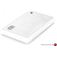 Бокс для жесткого диска AgeStar 3UB2A14 (белый/серебристый)