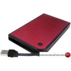 Бокс для жесткого диска AgeStar 3UB2A14 (черный/красный)