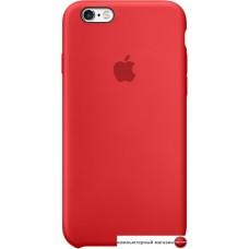 Чехол Apple Silicone Case для iPhone 6 / 6s Red