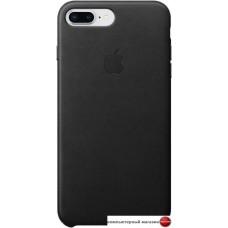 Чехол Apple Leather Case для iPhone 8 Plus / 7 Plus Black