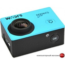 Экшен-камера SJCAM SJ4000 WiFi (голубой)