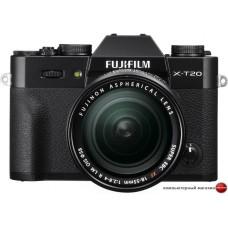 Беззеркальный фотоаппарат Fujifilm X-T20 Kit 18-55mm (черный)