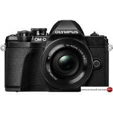 Беззеркальный фотоаппарат Olympus OM-D E-M10 Mark III Double Kit 14-42mm EZ + 40-150mm (черный)