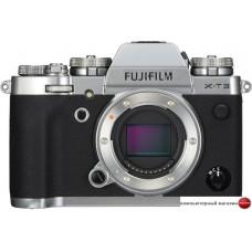 Беззеркальный фотоаппарат Fujifilm X-T3 Body (серебристый)