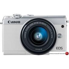 Беззеркальный фотоаппарат Canon EOS M100 Kit 15-45mm (белый)