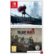 Игра Child of Light Ultimate Edition + Valiant Hearts: The Great War для Nintendo Switch
