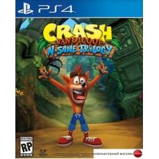 Игра Crash Bandicoot N. Sane Trilogy для PlayStation 4
