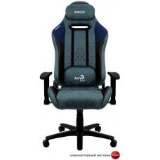 Кресло AeroCool Duke Steel Blue (черный/синий)