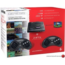 Игровая приставка Retro Genesis HD Ultra (2 геймпада, 50 игр)