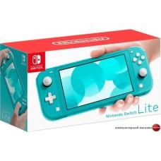 Игровая приставка Nintendo Switch Lite (бирюзовый)