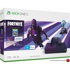 Игровая приставка Microsoft Xbox One S 1TB Fortnite Battle Royale Special Edition