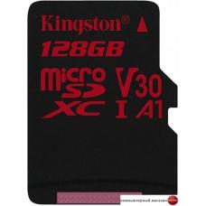 Карта памяти Kingston Canvas React SDCR/128GBSP microSDXC 128GB