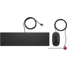 Клавиатура + мышь HP Pavilion 400 (черный)
