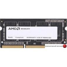 Оперативная память AMD 8GB DDR3 SO-DIMM PC3-12800 (R538G1601S2S-UO)