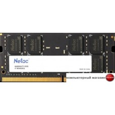 Оперативная память Netac Basic 16GB DDR4 SODIMM PC4-21300 NTBSD4N26SP-16