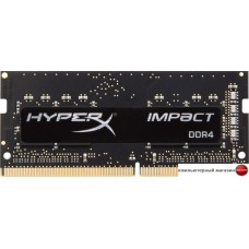 Оперативная память HyperX Impact 16GB DDR4 SODIMM PC4-21300 HX426S15IB2/16