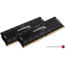 Оперативная память HyperX Predator 2x8GB DDR4 PC4-32000 HX440C19PB3K2/16