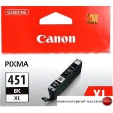 Картридж Canon CLI-451BK XL