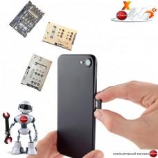 Замена держателя SIM карты телефона