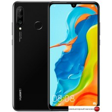 Смартфон Huawei P30 Lite MAR-LX1M Dual SIM 4GB/128GB (полночный черный)