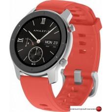 Умные часы Amazfit GTR 42мм (кораллово-красный)