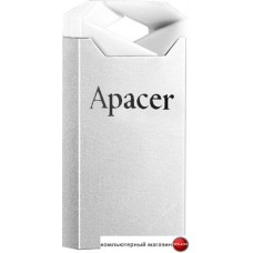 USB Flash Apacer AH111 64GB (белый/серебристый)