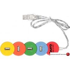 USB-хаб Buro BU-HUB4-0.5-U2.0-Snake