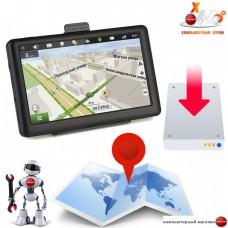 Настройка навигаторов GPS