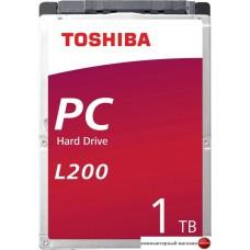 Жесткий диск Toshiba L200 1TB HDWL110UZSVA